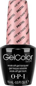 OPI GelColor - Are We There Yet? - Pastel