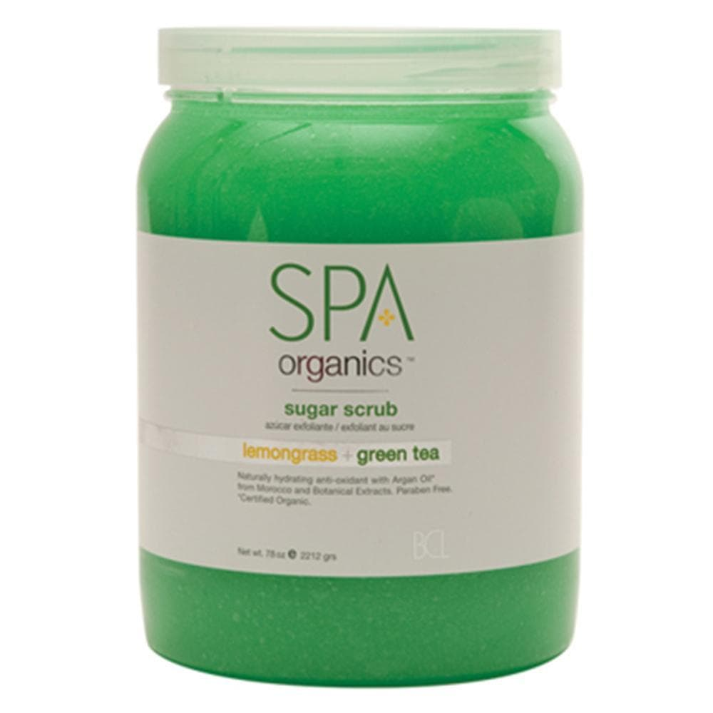 BCL, BCL SPA - Lemongrass + Green Tea Sugar Scrub - 64oz, Mk Beauty Club, Mani Pedi Scrub