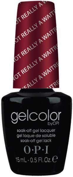 OPI GelColor - I'm Not Really A Waitress