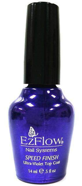 Ez Flow, EZ Flow Speed Finish Top Coat - .5oz, Mk Beauty Club, Treatments