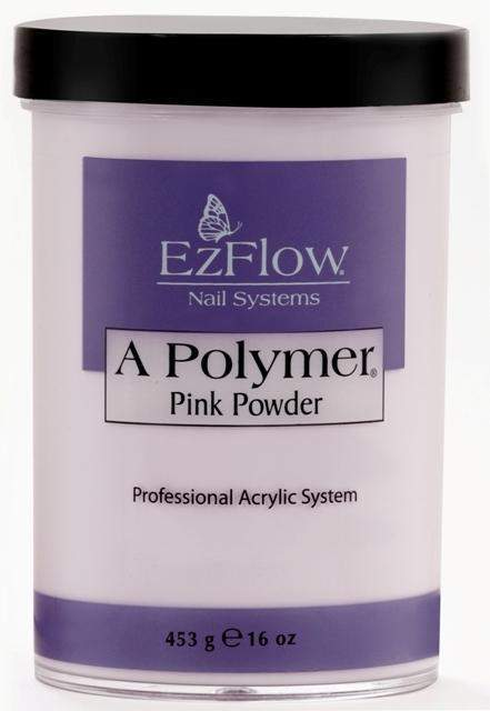 EZ Flow, EZ Flow A Polymer Pink Powder - 16oz, Mk Beauty Club, Acrylic powder