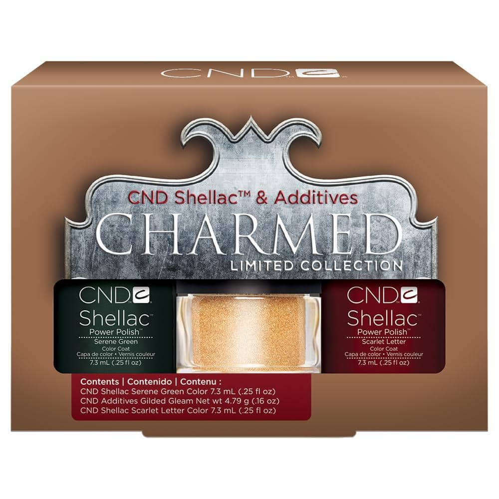 CND - Shellac & Additives (Duo Kit 2) -  Holiday 2013 Charmed Collection