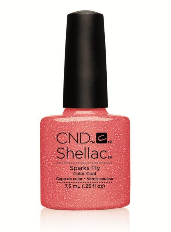 CND Shellac - Sparks Fly - Flirtation Collection 2016