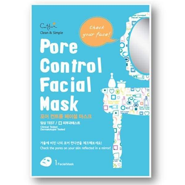Cettua, Cettua - Pore Control Facial Mask - 12 Sheets With Display Box, Mk Beauty Club, Sheet Mask