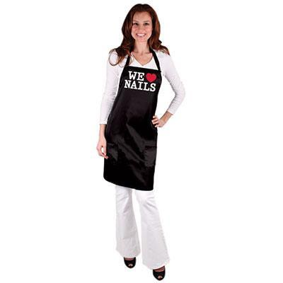 Salon Chic, Salon Chic - Expressions All-Purpose We Love Nails Tech Apron, Mk Beauty Club, Apron