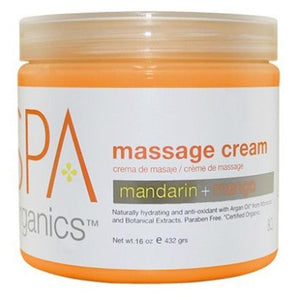 BCL SPA - Mandarin + Mango Massage Cream - 16oz