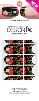 Dashing Diva Design FX Appliques - Moonlight & Roses 14