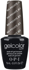 OPI GelColor - My Private Jet