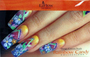 EZ FLOW Design Colored Acrylic Collection Kit - Rainbow