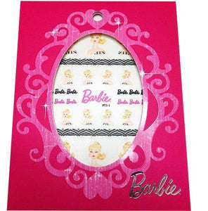 Mattel - Barbie Nail Stickers - Old School Barbie