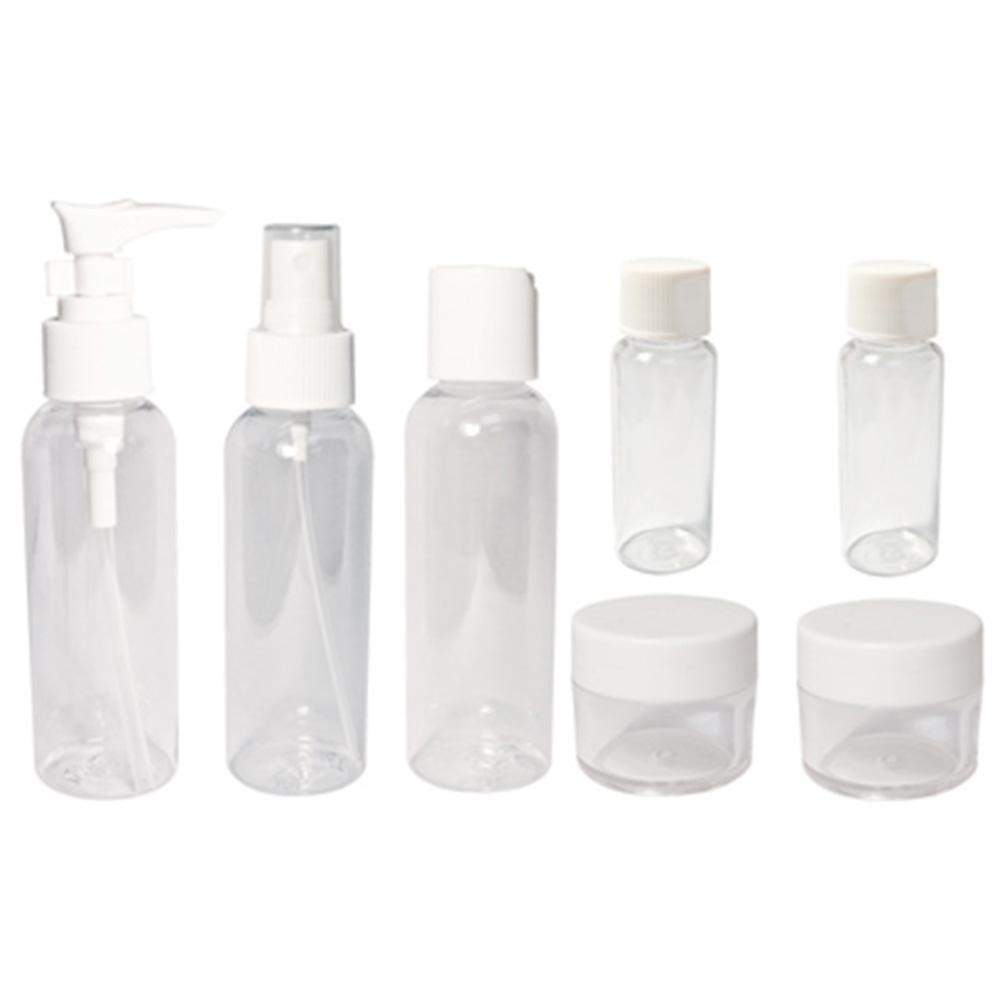 Soft N Style, Soft N Style- Travel Bottle Set 7pc., Mk Beauty Club, Bottles / Pumps