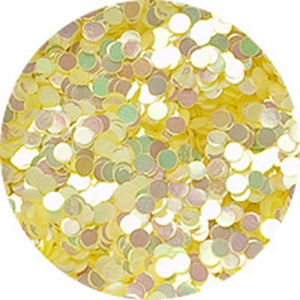 Erikonail Hologram Glitter - Pastel Pearl Yellow/1mm - Jewelry Collection
