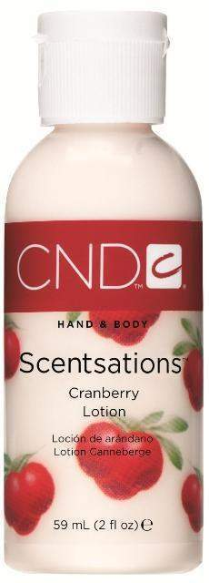 CND Scentsations Lotion - Cranberry 2 oz.