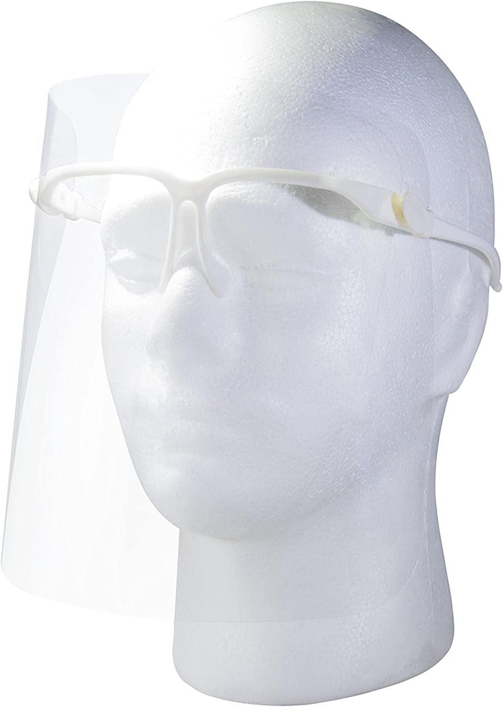 PPE, Face Shield Protective Mask on Glasses - Comfortable Fit, Mk Beauty Club, Face Shield