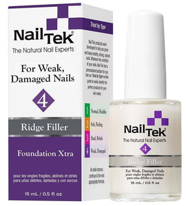 NailTek FOUNDATION XTRA 4 For Weak, Damaged Nails