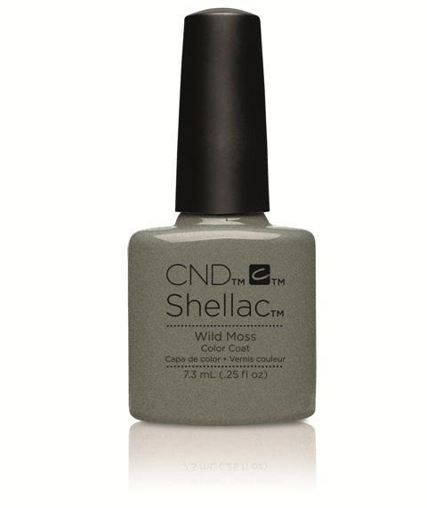 CND Shellac - Wild Moss - Flora and Fauna Spring 2015 Collection