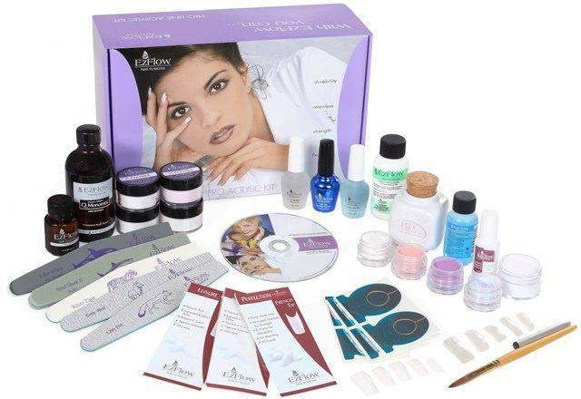 Ez Flow, EZ Flow Deluxe Proline Acrylic Kit With Instructional DVD, Mk Beauty Club, Acrylic Kit