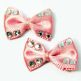 Fuschia, Fuschia Nail Art Charms - Cloth Bow - Pink, Mk Beauty Club, Nail Art Charms