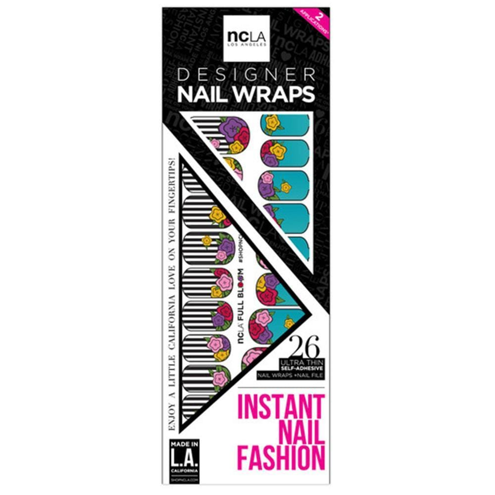 NCLA - Full Bloom - Nail Wraps