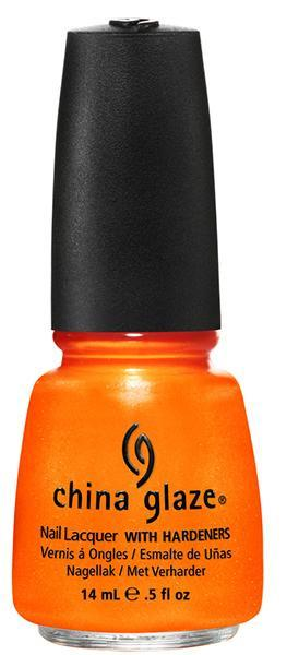 China Glaze -  Orange You Hot