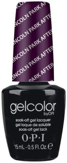 OPI GelColor - Lincoln Park After Dark