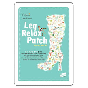 Cettua - Leg Relax Patch - 12 Bags With Display Box