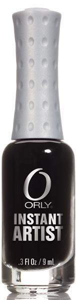 Orly, Orly Instant Artist - Jet Black, Mk Beauty Club, Nail Art