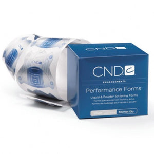 CND - Performance Forms - Silver 300 Labels