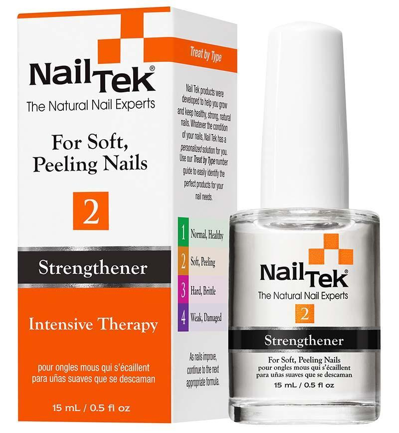 Nailtek INTENSIVE THERAPY 2 For Soft, Peeling Nails