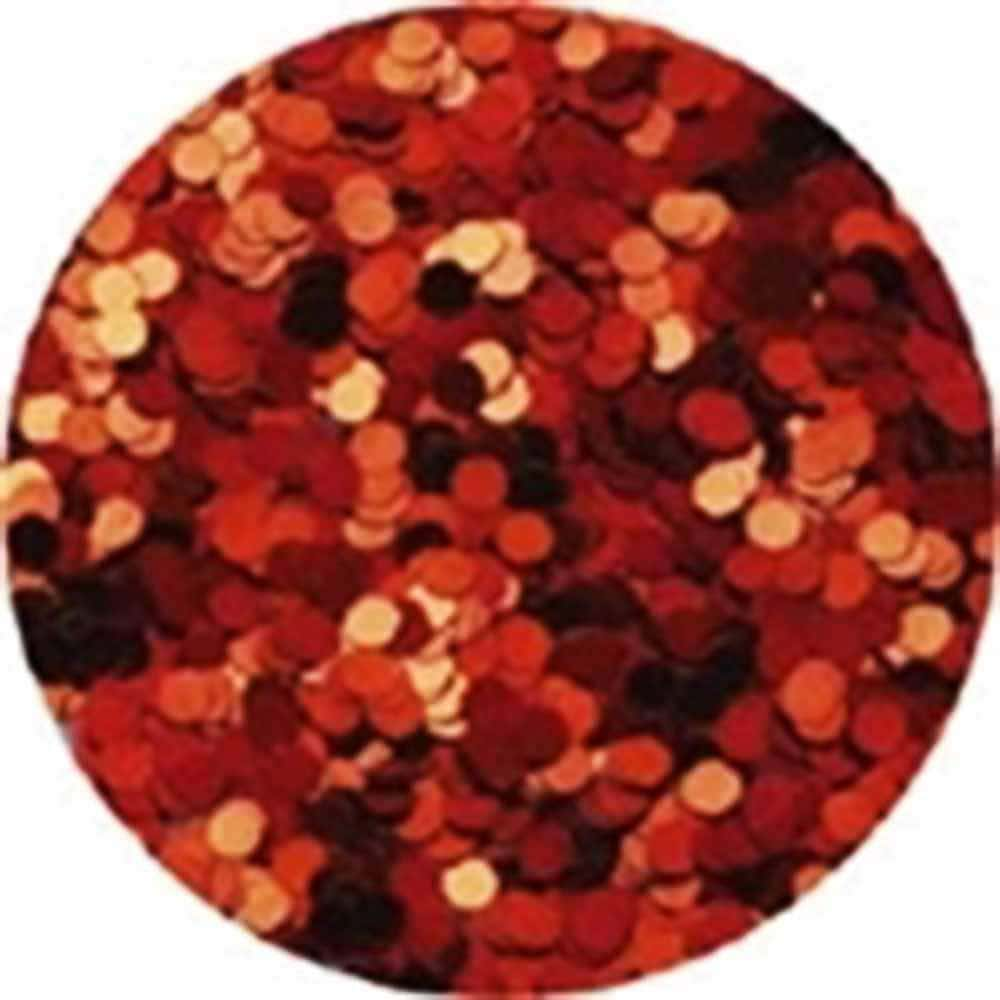 Erikonail Hologram Glitter - Red/1mm - Jewelry Collection