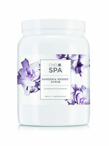 CND Spa Gardenia Woods Scrub 60.8oz