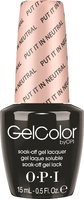 OPI GelColor - Put It In Neutral - SoftShades Collection 2015