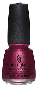 China Glaze - Santa Red My List - Happy HoliGlaze 2013 Collection