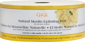 GiGi - Natural Muslin Roll -  3.25 in x 100yd