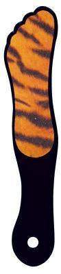 DL Pro - Animal Print Foot File - Tiger