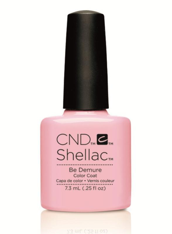 CND Shellac - Be Demure - Flirtation Collection 2016