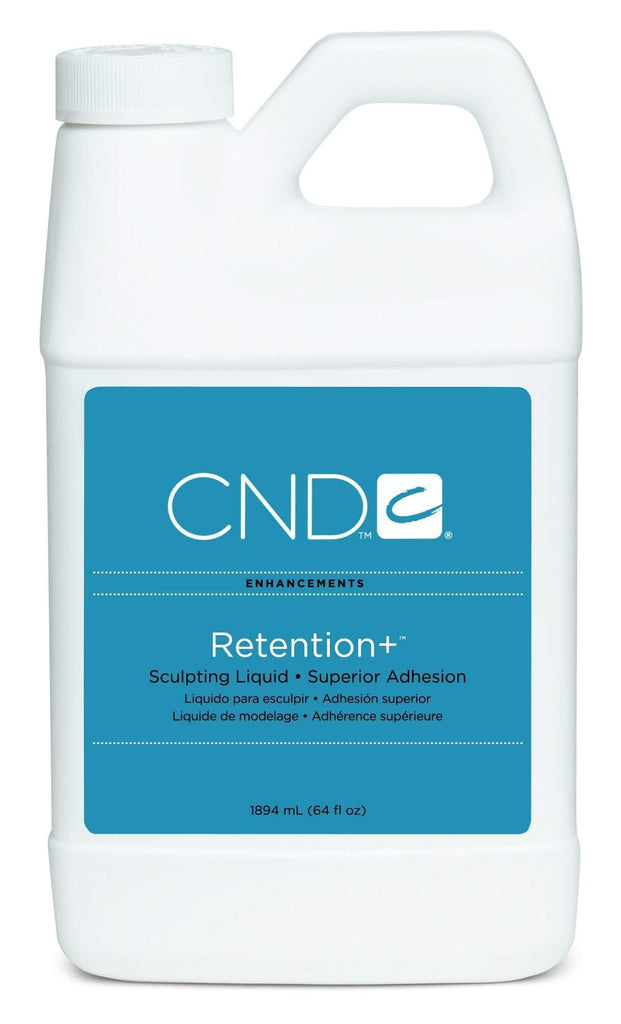 CND-Acrylic liquid-CND - Retention + Acrylic Liquid - 64oz