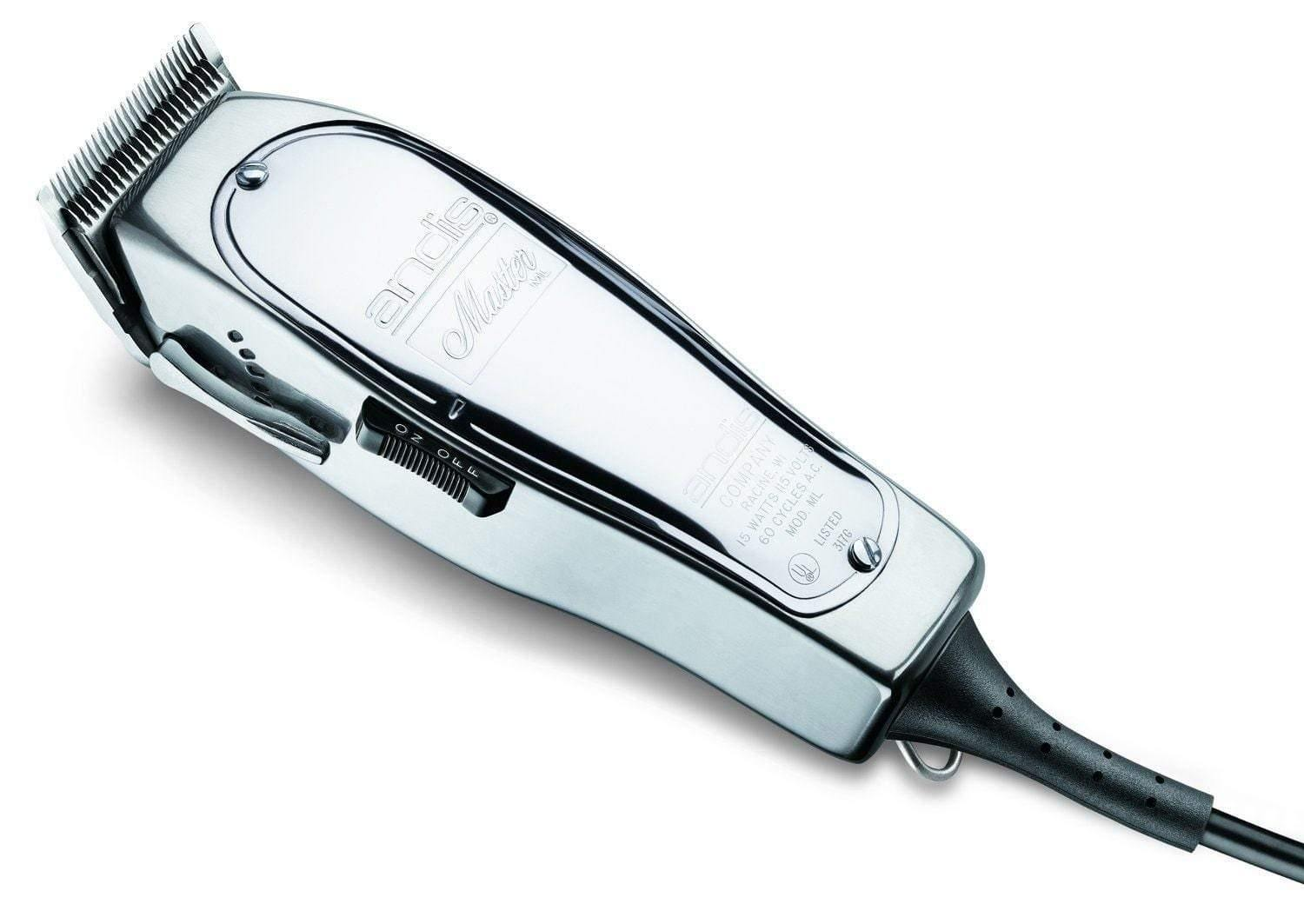 Andis, Andis Master Hair Clipper Adjustable Blade Silver #01557, Mk Beauty Club, Hair Clippers