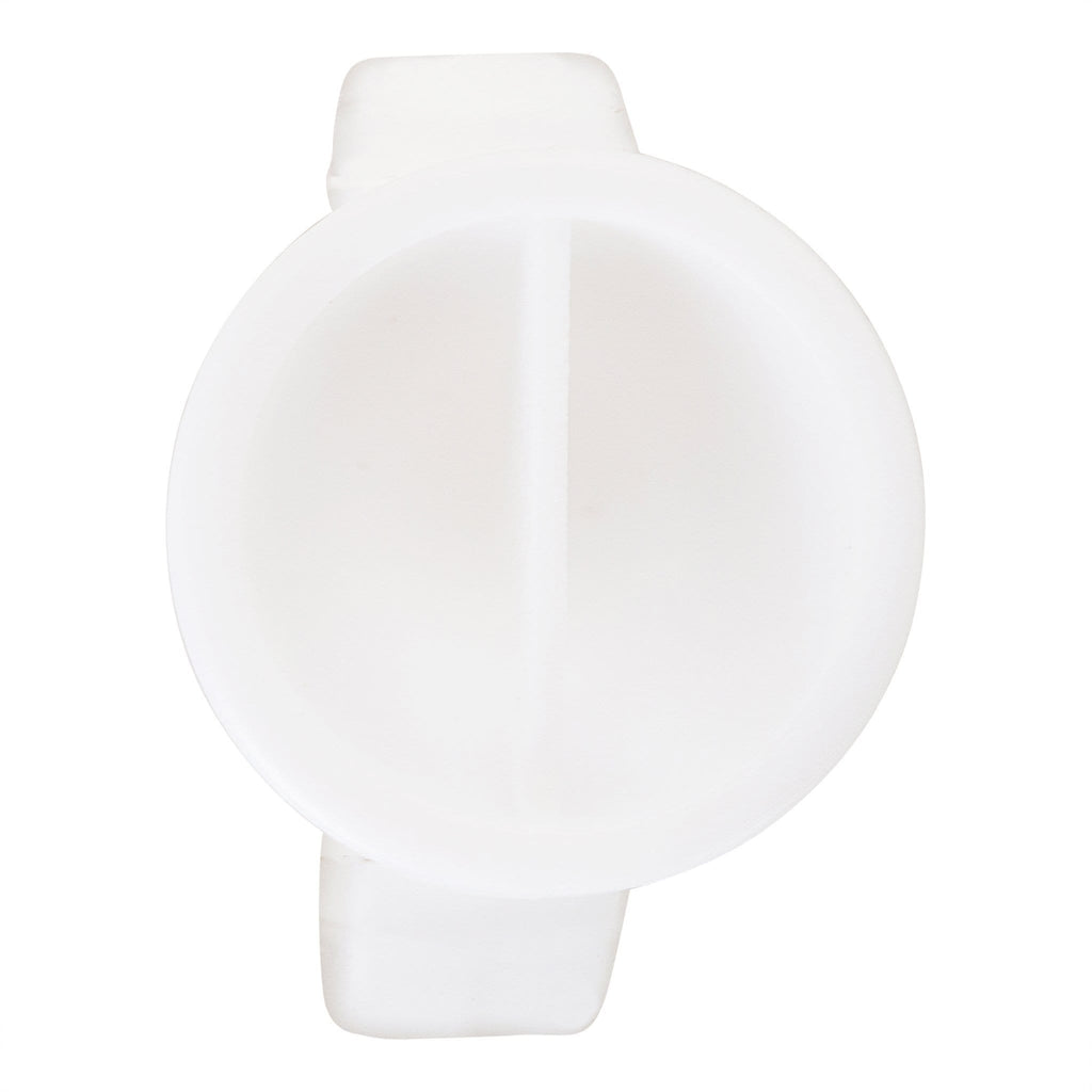 Eyelash Extension Glue Ring with Divider 100pcs
