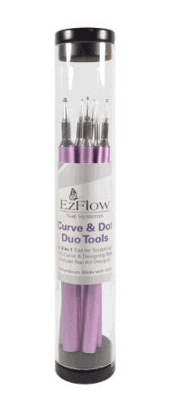 Ez Flow, Ezflow Curve & Dot Duo Tools, Mk Beauty Club, Nail Art Tools