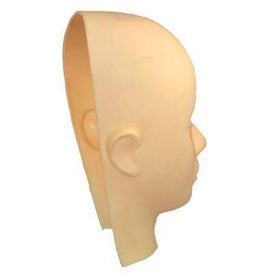Celebrity, Practice Mannequin Head w/ Optional Replacement Mask, Mk Beauty Club, Practice Mannequin