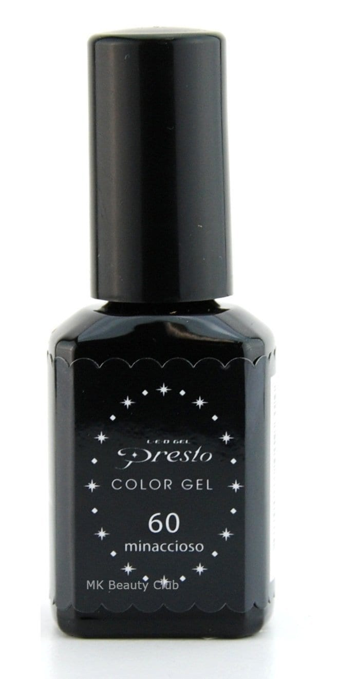 Presto Gel Polish # 60 Black