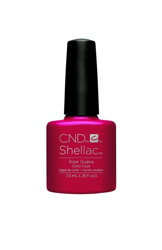 CND Shellac - Rhythm & Heat Collection - Ripe Guava