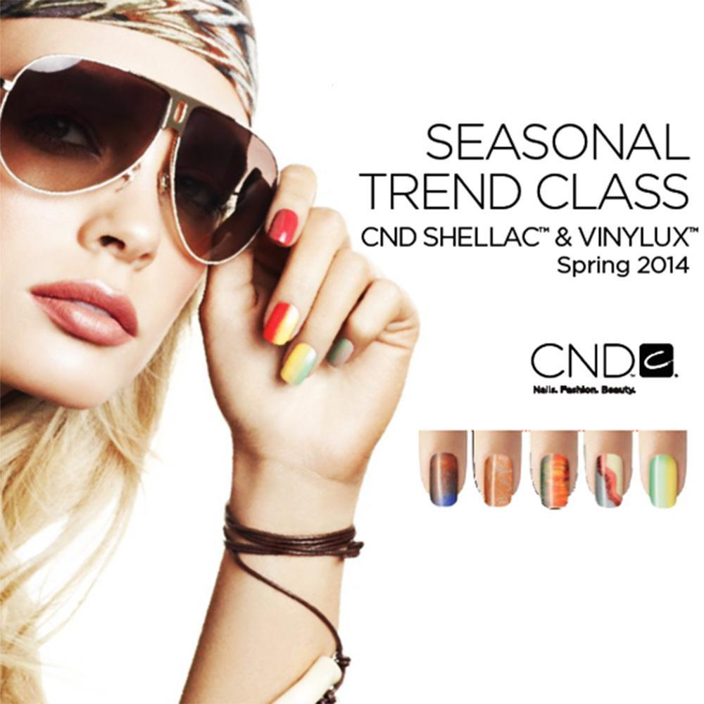 CND Education Event ?€? Seasonal Trend Spring 2014