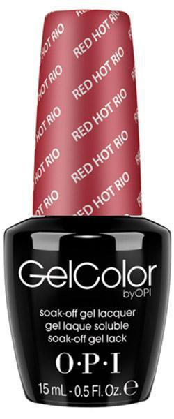 OPI, OPI GelColor Red Hot Rio, Mk Beauty Club, Gel Polish