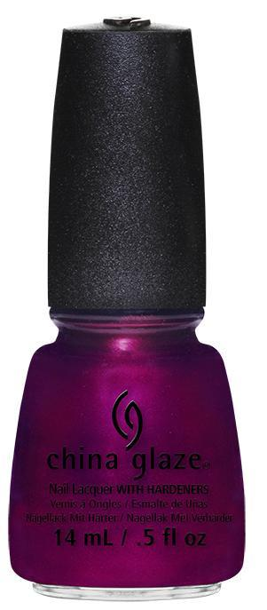 China Glaze - DontMake Me Wine - Autumn Nights