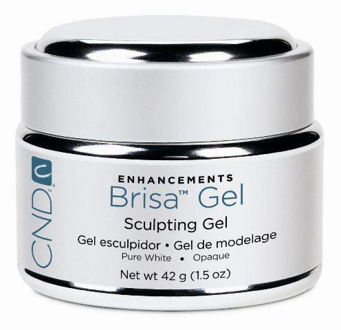 CND-Hard Gel-CND Brisa Gel - Pure White 1.5oz