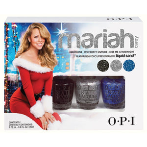 OPI - Mariah Carey Mini3 - Pack (Trio #2) - Liquid Sand Holiday 2013 Collection