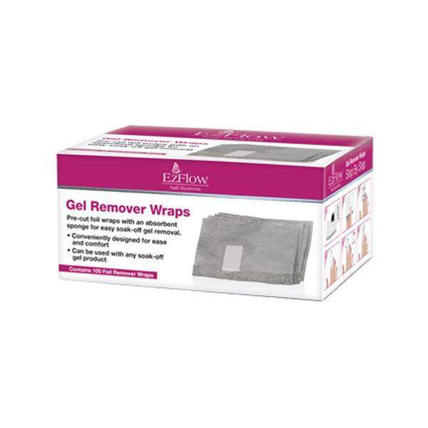 Ez Flow - Gel Remover Wraps - 100ct