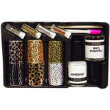 DL Professional, DL Pro - Nail Art Foil Kit With 6 Patterns, Mk Beauty Club, Nail Art